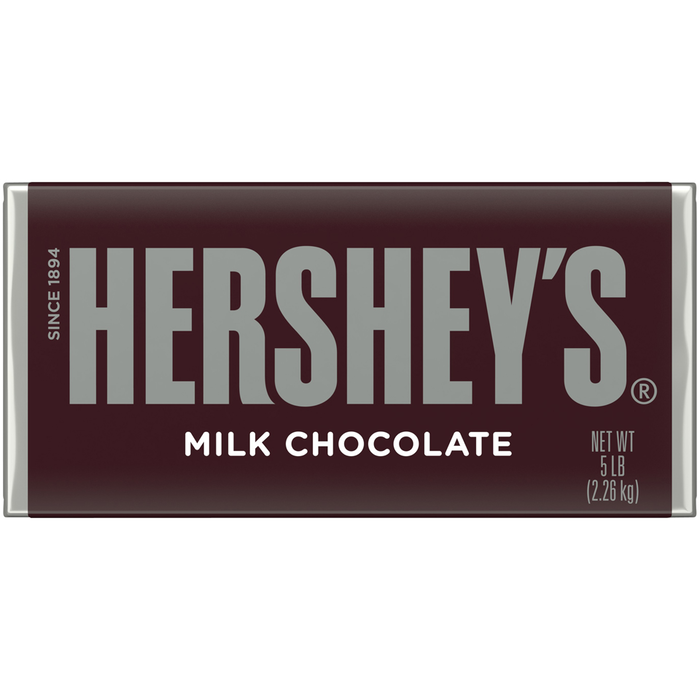 Image of World's Largest HERSHEY'S Milk Chocolate Bar [5 lbs. bar] Packaging