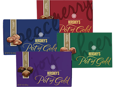 HERSHEY'S POT OF GOLD Chocolates Variety Collection