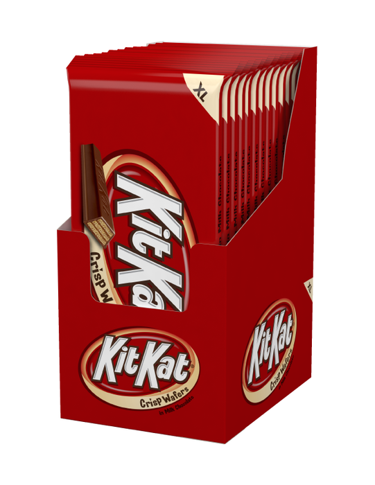 Image of KIT KAT Extra Large (4.5 oz.) Bar [12-Pack (12 x 4.5 oz. bar)] Packaging