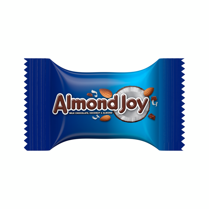 Image of ALMOND JOY Bar Miniatures [11 oz. bag] Packaging