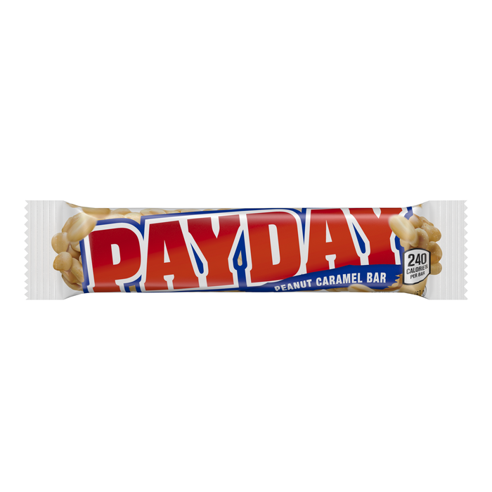 Image of PAYDAY Peanut Caramel Standard Bar [24-Pack (24 x 1.85 oz. bar)] Packaging