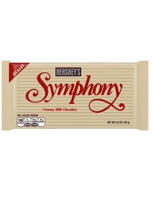 SYMPHONY Milk Chocolate Giant (6.8 oz.) Bar