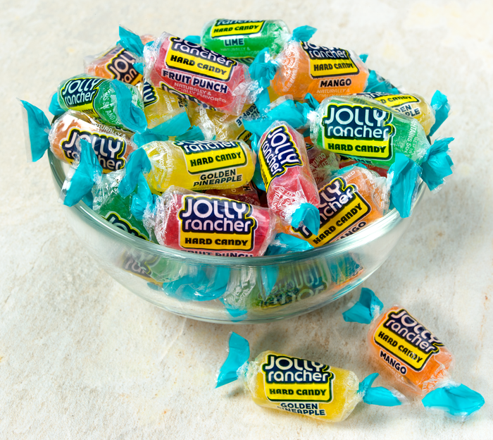 Image of JOLLY RANCHER Tropical Hard Candy, 13 oz. Packaging
