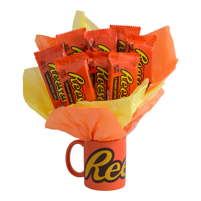 Image of REESE'S Peanut Butter Cups Candy Bouquet Gift [1 gift set] Packaging