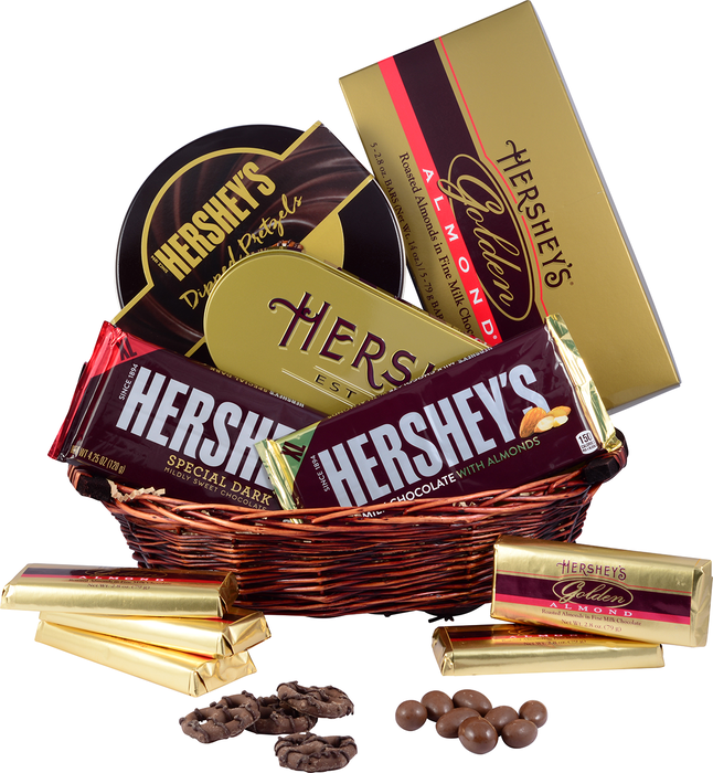 Image of HERSHEY'S Holiday Gift Basket , 1 gift basket Packaging