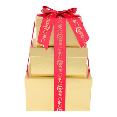 HERSHEY'S Three-Box Chocolate Love Gift Tower