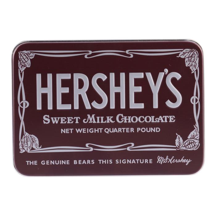 Image of Nostalgic HERSHEY'S KISSES Chocolate Tin Packaging