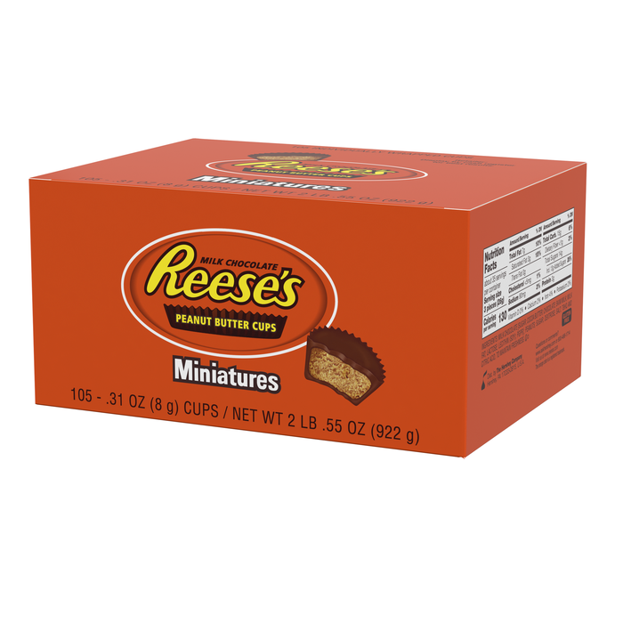 Image of REESE'S Peanut Butter Cup Miniatures - 105 ct. Packaging