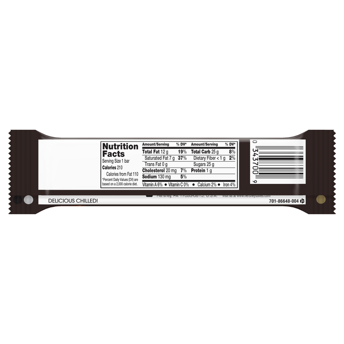 Image of SKOR Toffee Candy Standard Bar Packaging