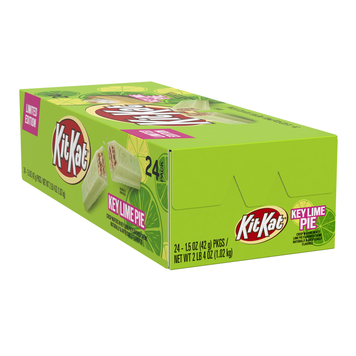 Image of KIT KAT Key Lime Pie Candy Bar, 1.5 oz. 24-Pack Packaging