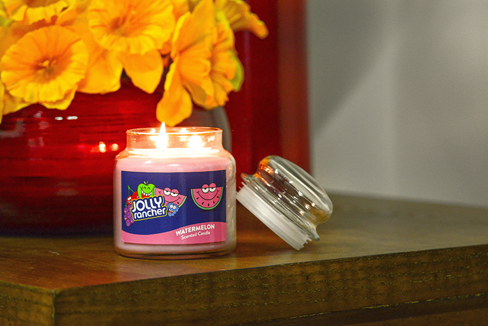 Image of JOLLY RANCHER Watermelon Scented Candles [1 candle] Packaging