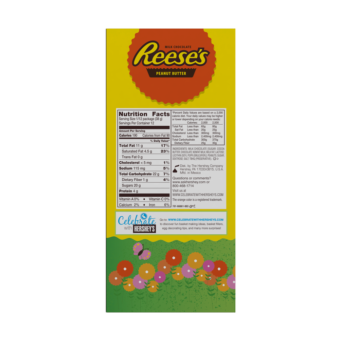 Image of REESE'S Giant Bunny, 1 lb. Packaging