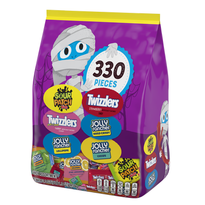Hershey Halloween Snack Size Assortment, 97.3 oz bag, 330 pieces