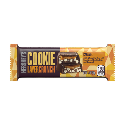 HERSHEY'S COOKIE LAYER CRUNCH Bar - Caramel