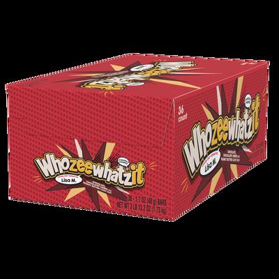 WHOZEEWHATZIT Chocolate Candy Bar, 1.7 oz