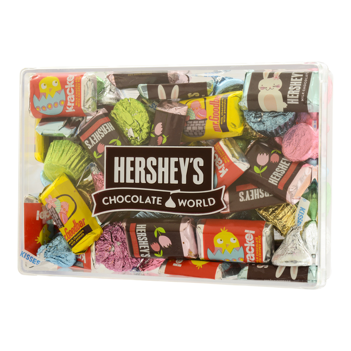 Image of HERSHEY'S Assorted Miniatures Easter Gift Box, 16 oz. Packaging