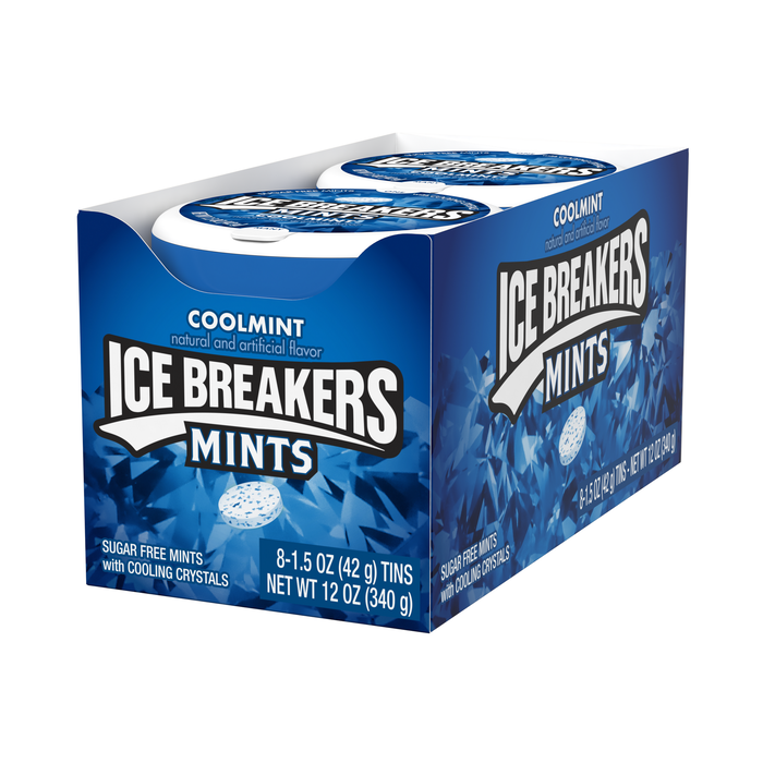 Image of ICE BREAKERS Mints in Coolmint Packaging