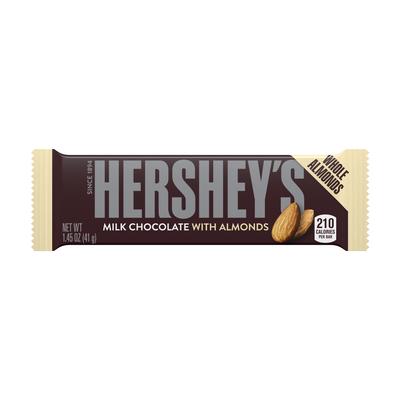 HERSHEY'S Milk Chocolate with Almonds Standard Bar (36 ct.)