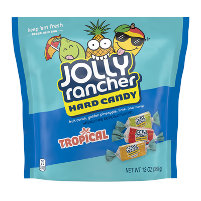 JOLLY RANCHER Tropical Hard Candy, 13 oz.
