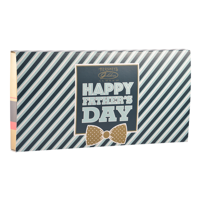 HERSHEY'S Father's Day GOLDEN ALMOND Dark Chocolate Bars