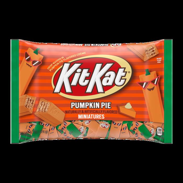 Image of KIT KAT® Pumpkin Pie Miniatures, 9.7 oz bag Packaging