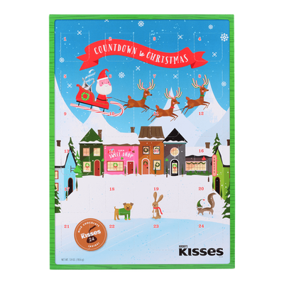 HERSHEY'S Milk Chocolates Holiday Advent Calendar