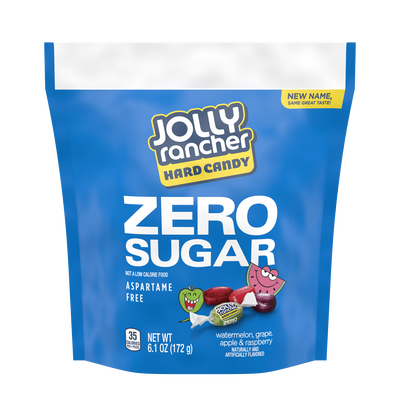 JOLLY RANCHER Zero Sugar Original Flavors Hard Candy, 6.1 oz bag