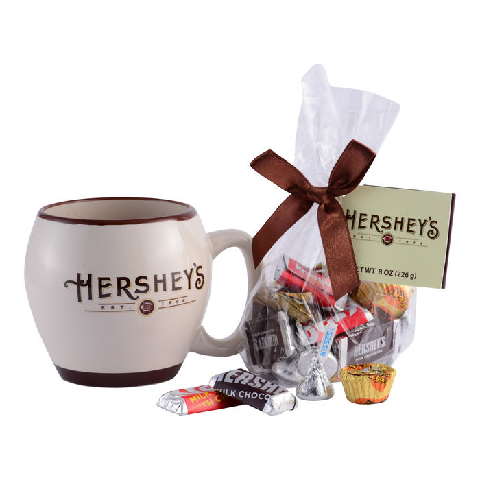Image of HERSHEY'S Collectible Mug with Assorted Miniatures Packaging