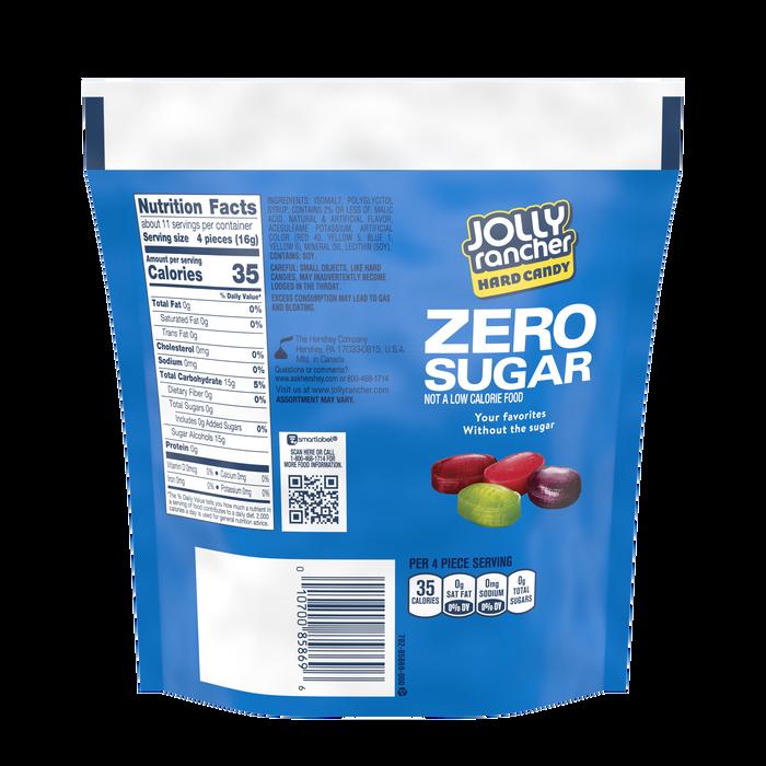 Image of JOLLY RANCHER Zero Sugar Original Flavors Hard Candy, 6.1 oz bag Packaging