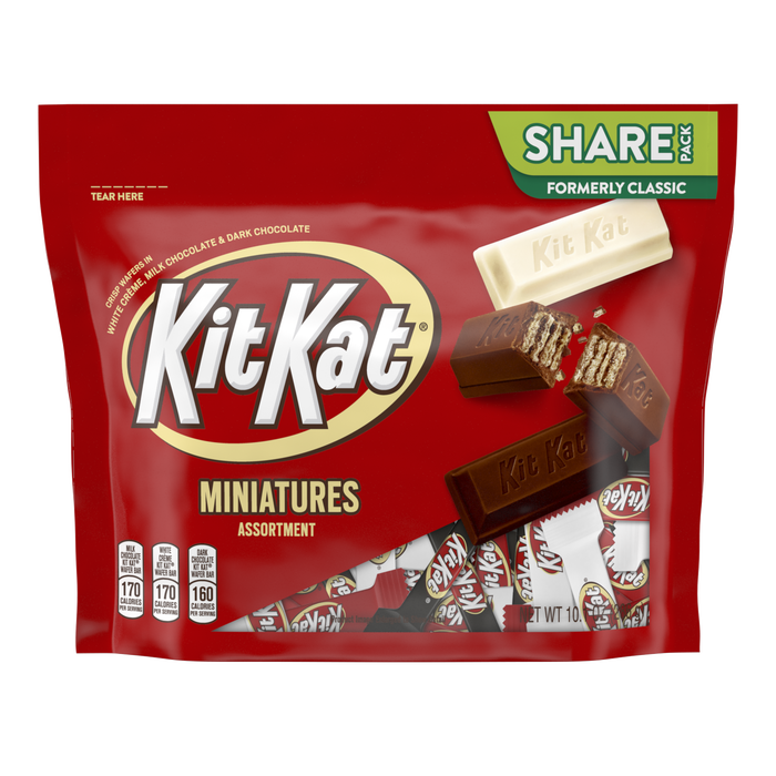 Image of KIT KAT Miniatures Assortment Packaging