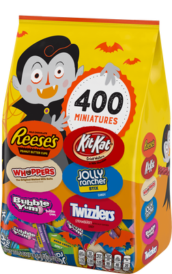 HERSHEY'S Halloween Assortment - 117.5 oz. (400 ct)