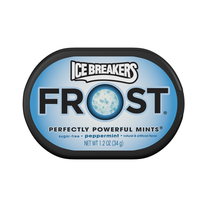 Image of ICE BREAKERS FROST Peppermint Mints Packaging