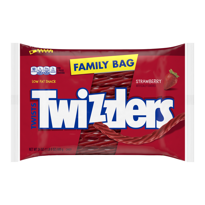 Image of TWIZZLERS Strawberry Twists - 24 oz. Packaging