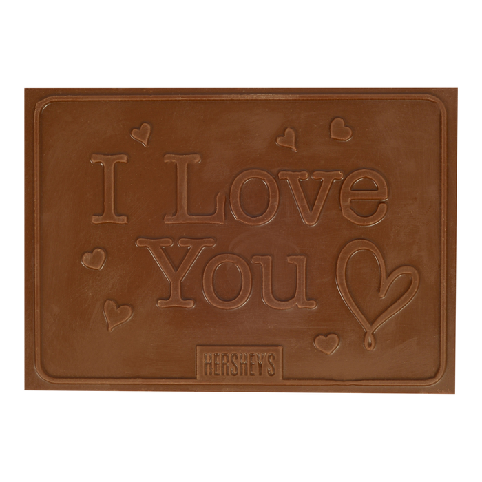 "Image of HERSHEY'S ""I Love You"" Chocolate Bar - 8 oz. Packaging"