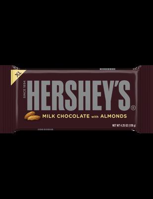HERSHEY'S Milk Chocolate with Almonds Extra Large (4.25 oz.) Bar