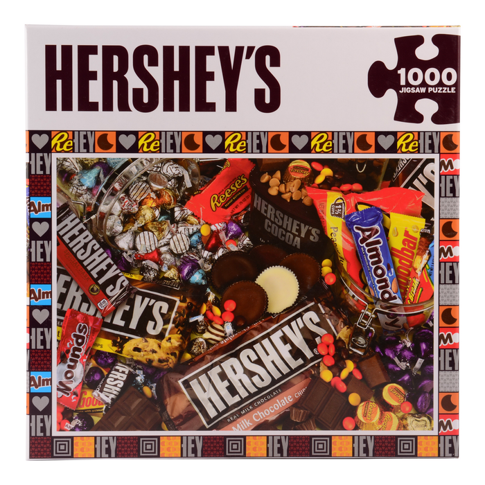Image of HERSHEY'S Candy Mayhem Puzzle – 1000 Piece Packaging