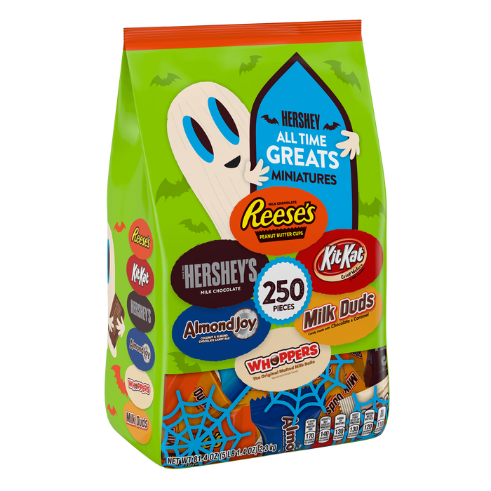 Image of HERSHEY'S All Time Greats Miniatures (250 ct.) Packaging