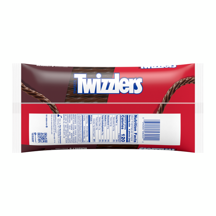 Image of TWIZZLERS Chocolate Twists - 12 oz. Packaging
