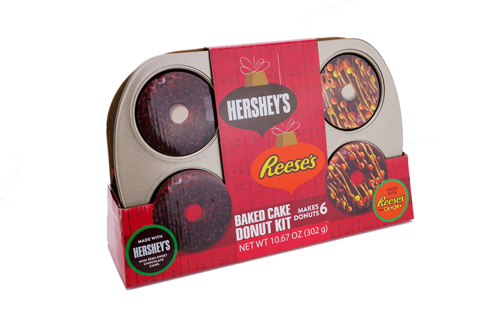 Image of Hershey Baking REESE'S and Hershey Donut Kit Packaging