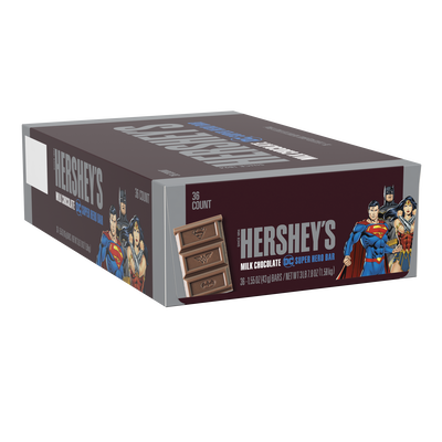 HERSHEY'S Milk Chocolate DC Super Hero Bar, 1.55 oz