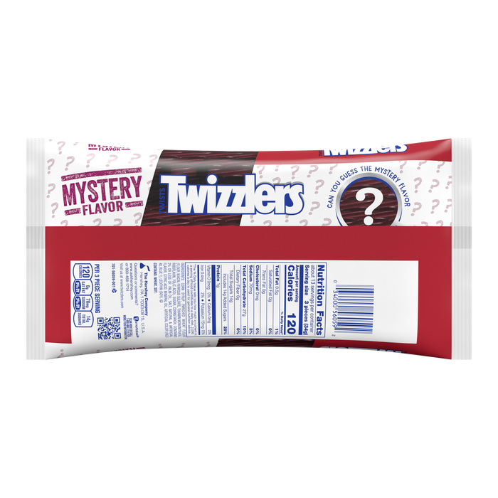 Image of TWIZZLERS Twists Mystery Flavor Candy, 16 oz. bag Packaging