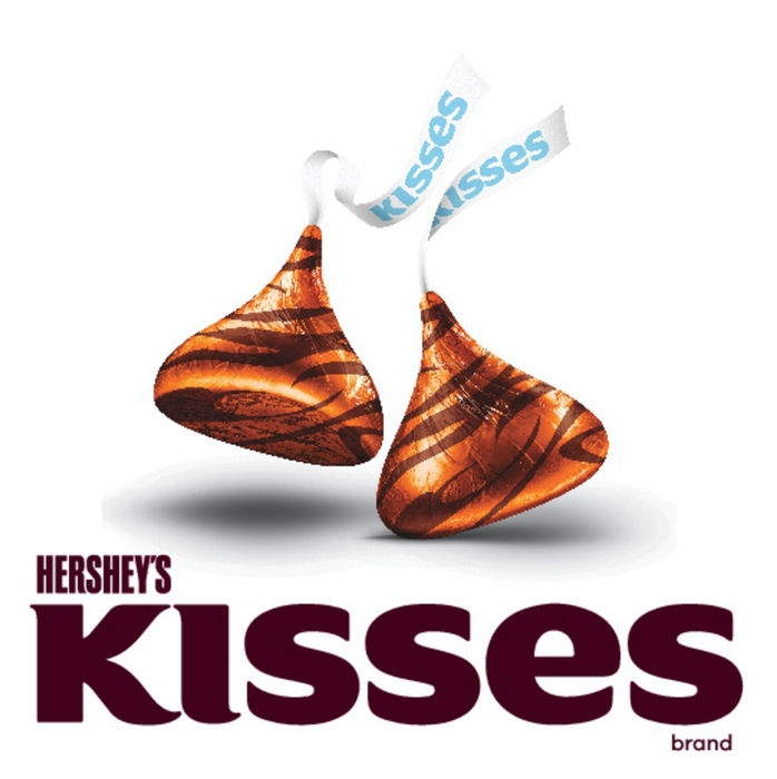 Image of KISSES Milk Chocolates Filled with Caramel [11 oz. bag] Packaging