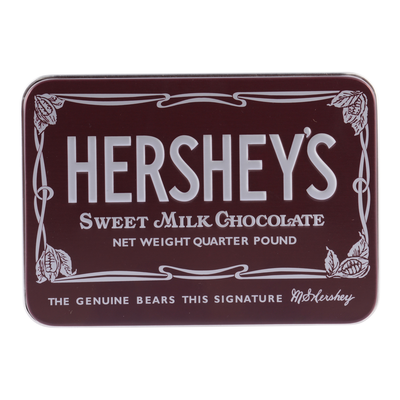 Nostalgic HERSHEY'S KISSES Chocolate Tin