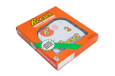 REESE'S Peanut Butter Enrobed in White Creme White Elephant Box
