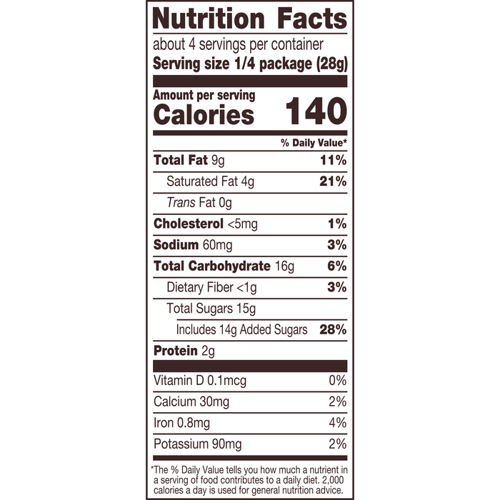 Image of REESE'S Peanut Butter Rose, 3.9 oz Packaging