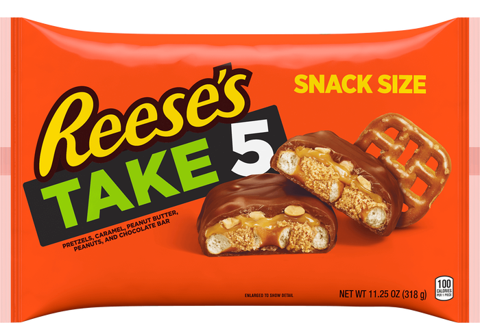 Image of TAKE 5 Bar Snack Size - 11.25 oz. [11.25 oz. bag] Packaging