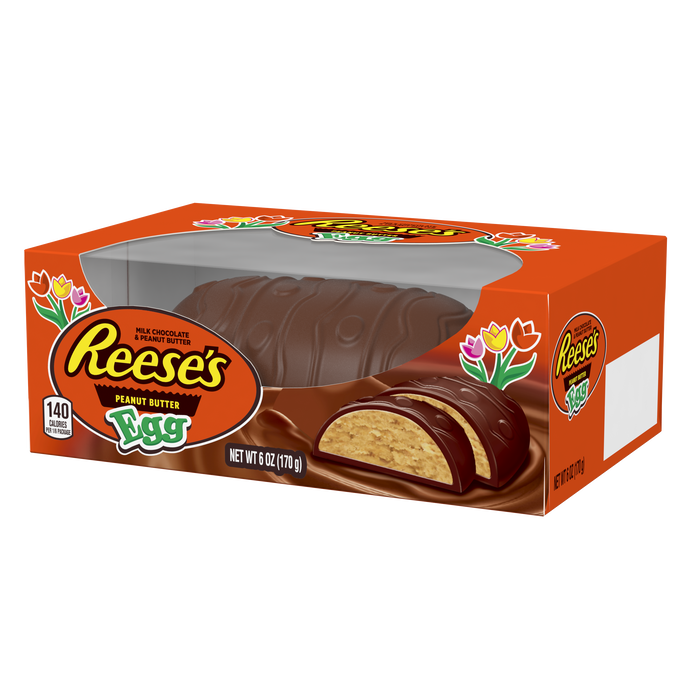 Image of REESE'S Peanut Butter Egg, 6 oz. [1 egg] Packaging