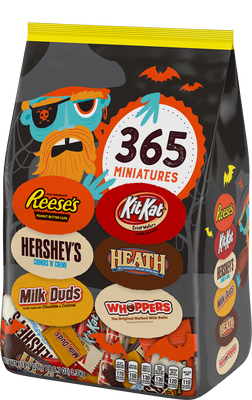 HERSHEY'S Halloween Assortment Stand Up Bag  - 118.7 oz. (365 ct.)