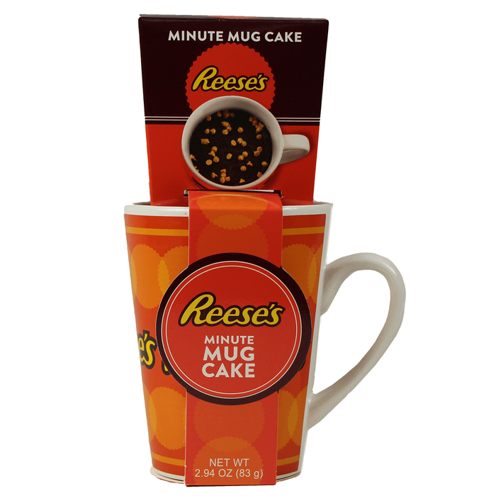 Image of REESE'S Mug Cake Kit [2.94 oz. mix kit] Packaging