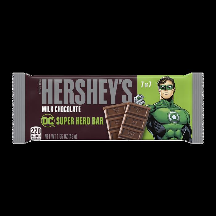 Image of HERSHEY'S Milk Chocolate DC Super Hero Bar, 1.55 oz Packaging